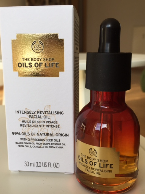 Das neue Facial Oil von The Body Shop