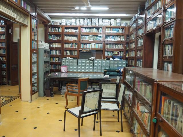 Bibliothek im Gandhi Haus