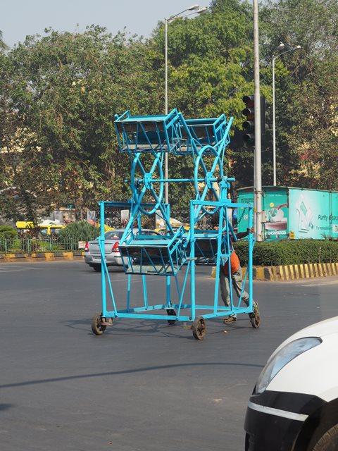 Karussell fahren auf Indisch