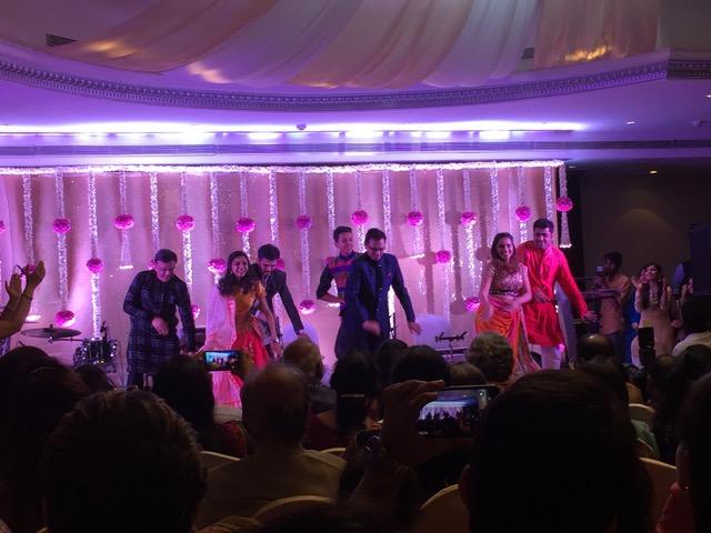 Tanzen beim Sangeet